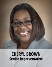 Cheryl Brown, Sr. Rep
